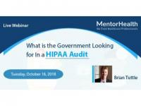 What is the Government Looking for In a HIPAA Audit