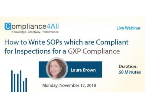 Which are Compliant for Inspections for a [GXP Compliance]