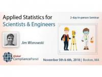 Applied Statistics for Scientists and Engineers seminar at Boston