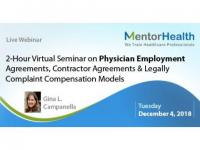 2-Hour Virtual Seminar on Physician Employment Agreements