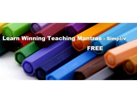 Learn Winning Teaching Mantras - Simpliv (FREE)
