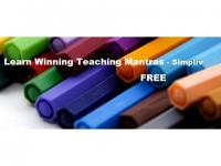 Learn Winning Teaching Mantras - Simpliv (FREE)