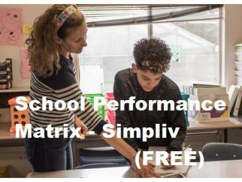 Learning to Design a School Performance Matrix - Simpliv (FREE)
