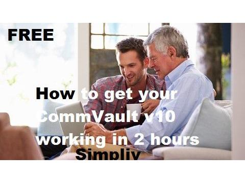 How to get your CommVault v10 working in 2 hours - Simpliv (FREE)
