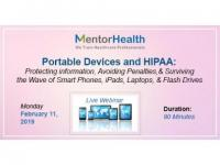 Webinar On Portable Devices and HIPAA: Protecting information
