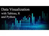 Data Visualization with Tableau, R and Python (40%OFF)