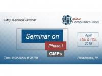 Seminar on Phase I GMPs | Drug Development Course (use this promo code GCP50 to get 50% off)