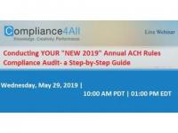 Annual ACH Rules Compliance Audit a Step-by-Step Guide