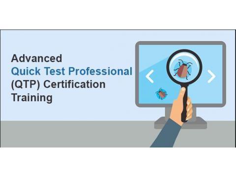 Advanced Quick Test Professional (QTP) Certification Training - Live