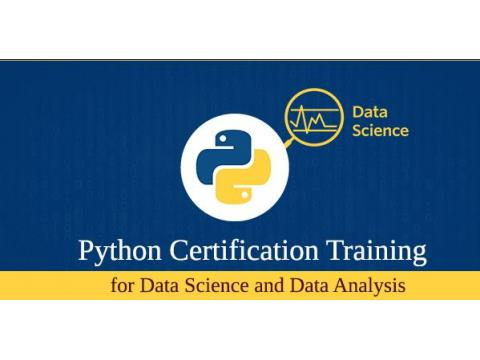 Python Certification training for Data Science & Data Analysis - Live