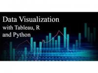 Data Visualization certification course with Tableau, R and Python - Live