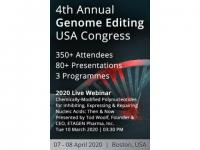 4th Annual Genome Editing USA Congress