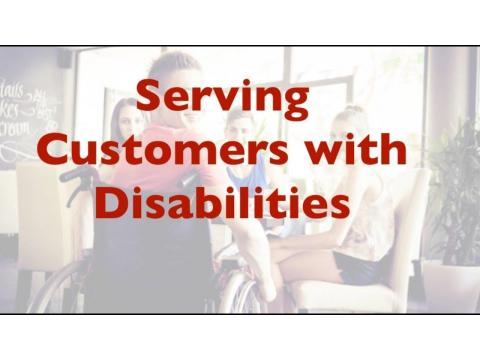 Serving Customers with Disabilities,Training Issues for Employees