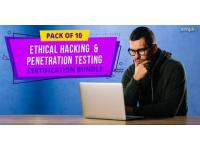 Pack of 10 - Ethical Hacking & Penetration Testing Certification Bundle