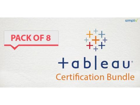 Pack of 8 - Tableau Certification Bundle